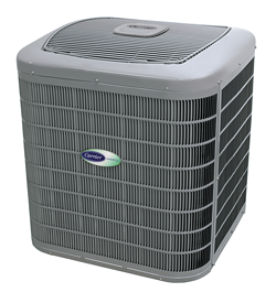 Infinity 20 heat pump from Carrier