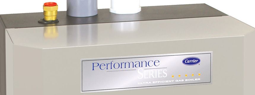 Carrier performance series ultra efficient gas boiler