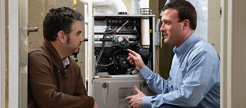 service on home furnace system