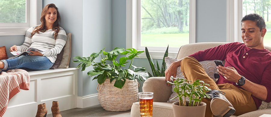 Toms Heating recommends a ductless system for year-round comfort.