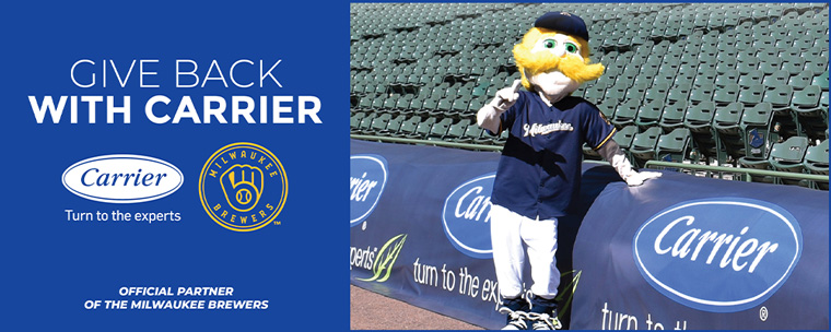 Carrier is Partnering with the Milwaukee Brewers